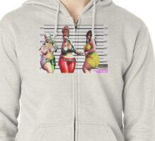 The Usual BBW Suspects Zipped Hoodie