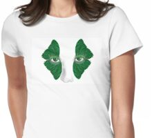 Butterfly lashes Womens Fitted T-Shirt