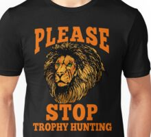 STOP TROPHY HUNTING Unisex T-Shirt