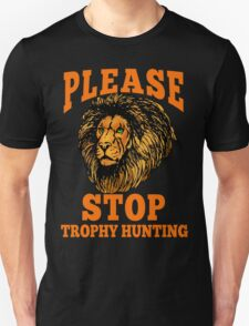 STOP TROPHY HUNTING T-Shirt