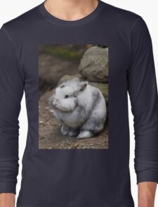 rabbit in the forest Long Sleeve T-Shirt