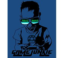 Video Game Junkie Photographic Print