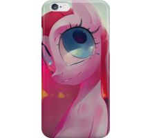 Pinkamena by Io Zarate, painting, ilustration iPhone Case/Skin