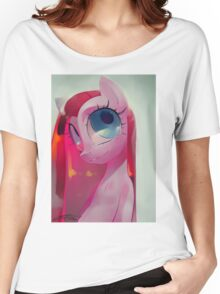 Pinkamena by Io Zarate, painting, ilustration Women's Relaxed Fit T-Shirt