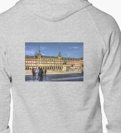 The place to be in Madrid Zipped Hoodie