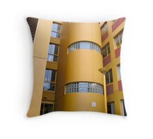 Stair wells Throw Pillow