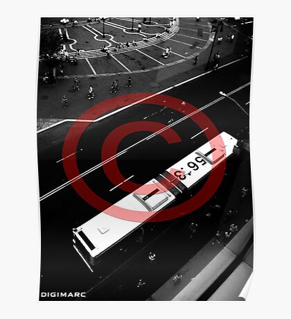 Bus Overhead Poster
