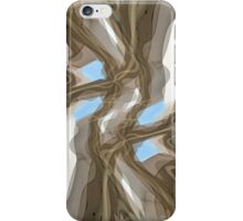 Magritte Ceiling iPhone Case/Skin