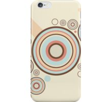 Colorful Graphic Rings iPhone Case/Skin