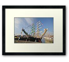 Hartlepool Tall Ships 2010 Framed Print