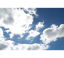 Florida's Winter Clouds Photographic Print