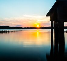 Calm Sunset by Shelby Young