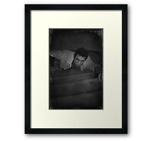Driven By Desire and Despair Framed Print