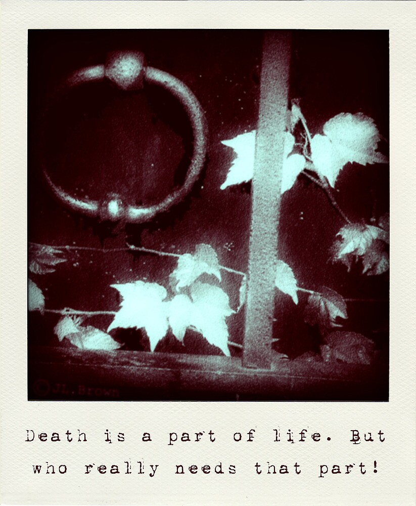 Death is a part of life by James L. Brown