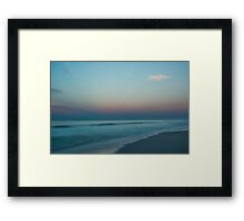 Calm Waters at Sunrise Framed Print