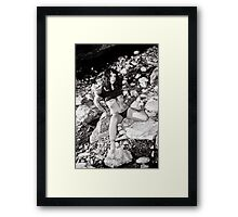 Raw and untamed Framed Print