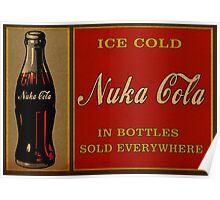 Nuka Cola Vintage Poster