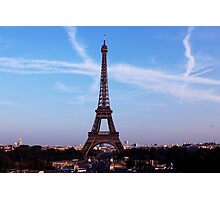 Tour Eiffel Photographic Print