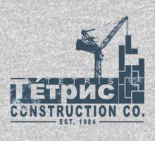 Tetris Construction Co. Kids Tee