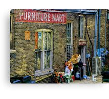 Furniture Mart Canvas Print