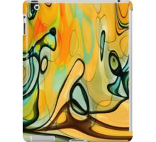 The Day The Mural Escaped From The Canvas iPad Case/Skin