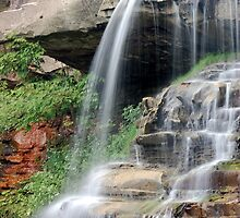 Brandywine Falls, Northfield, Ohio by Wendy King