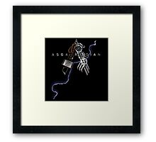 Asgardian Pride (Lightning Bolt) Framed Print