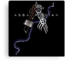 Asgardian Pride (Lightning Bolt) Canvas Print