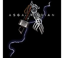 Asgardian Pride (Lightning Bolt) Photographic Print