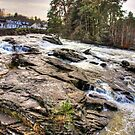 The Falls at Killin by Tom Gomez