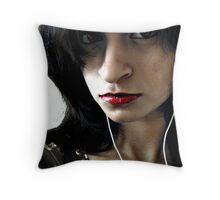 Vampire much.. ?! Throw Pillow