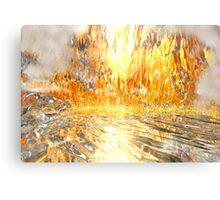 Flame Cave Canvas Print