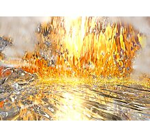 Flame Cave Photographic Print