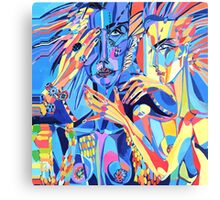 Tie Me Up Canvas Print