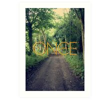 Once Upon A Time... Art Print