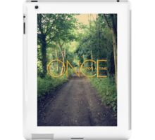 Once Upon A Time... iPad Case/Skin