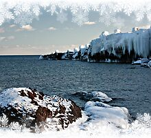 Superior Shores in Winter by by M LaCroix