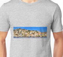 Symi Town Houses Unisex T-Shirt