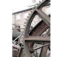 Wheel yard Photographic Print