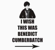 I wish this was Benedict Cumberbatch by ElPavl
