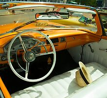 Convertible Interior  by Rob Hawkins