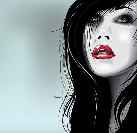 Mimi vector illustration by Brian Gibbs by Brian Gibbs