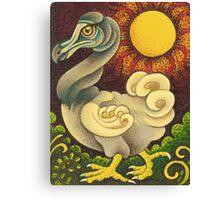 The Strutting DoDo Bird Canvas Print