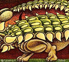The Ankylosaurus Waltz   by JacquelynsArt