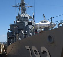 USS Cassin Young by photosbycoleen