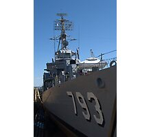 USS Cassin Young Photographic Print