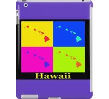 Colorful Hawaii State Pop Art Map iPad Case/Skin
