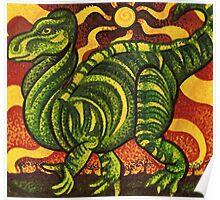 Iguanodon  Poster