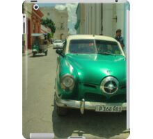Green Studebaker  iPad Case/Skin