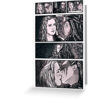 The 100 Clarke & Lexa Greeting Card
